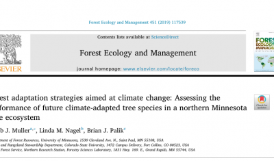 J.J. Muller et al. 2019 Forest Ecology & Management Article